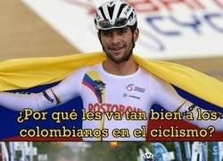 Enlace a Una pequeña historia de el nexo entre el ciclismo y Colombia