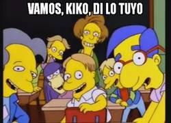 Enlace a Kiko Narváez acabó con esguince de lengua