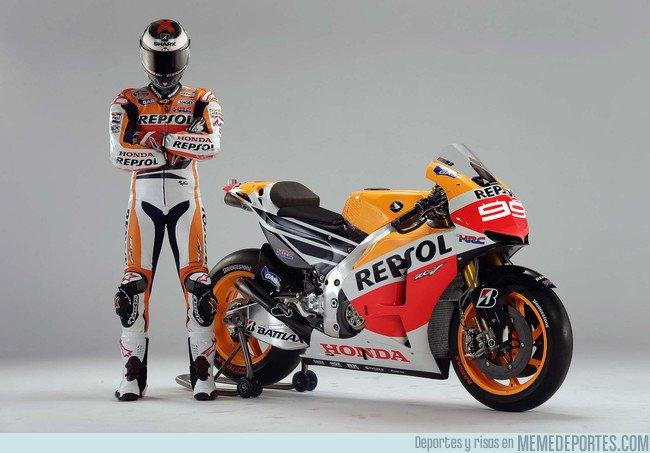 1036676 - Lorenzo y su 99 en Honda