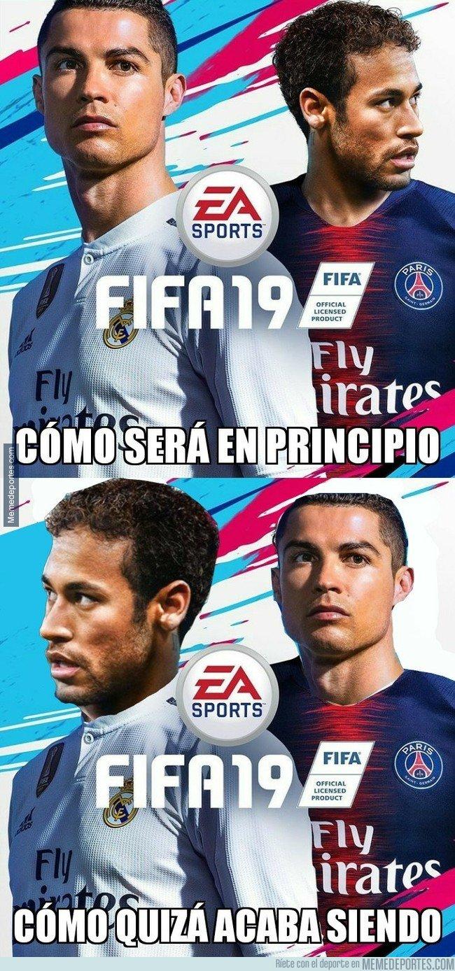1037014 - Quizá han publicado la portada de FIFA19 demasiado pronto...