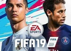 Enlace a Quizá han publicado la portada de FIFA19 demasiado pronto...