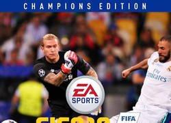 Enlace a Esta SÍ que debía ser la portada del FIFA
