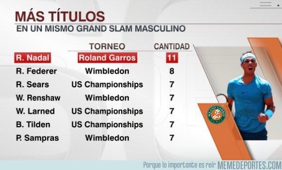 1037068 - Nadal, absoluto dominador de Roland Garros