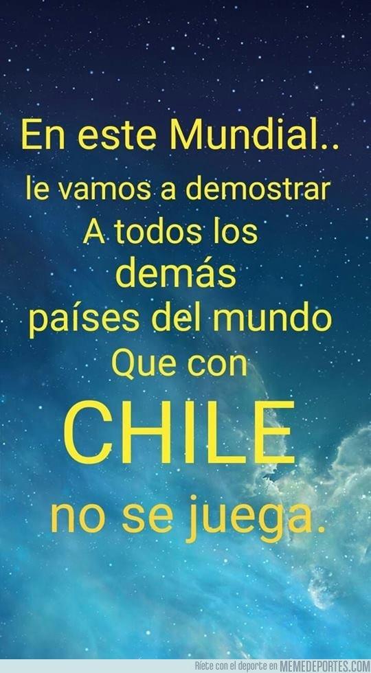 1037165 - Con Chile no se juega