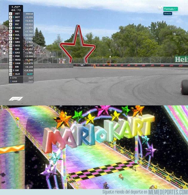 1037198 - Cuando la Fórmula 1 corre en la Senda Arco Iris