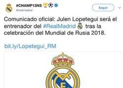 Enlace a OFICIAL: Lopetegui será el entrenador del Real Madrid tras el Mundial