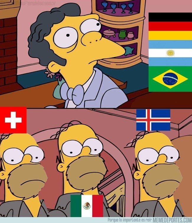1038596 - Cuando piensas que tu primer partido del mundial será un paseo
