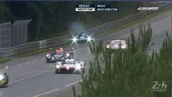 Enlace a Como Grosjean en Bakú: un prototipo se va contra la valla en Le Mans durante un Safety Car
