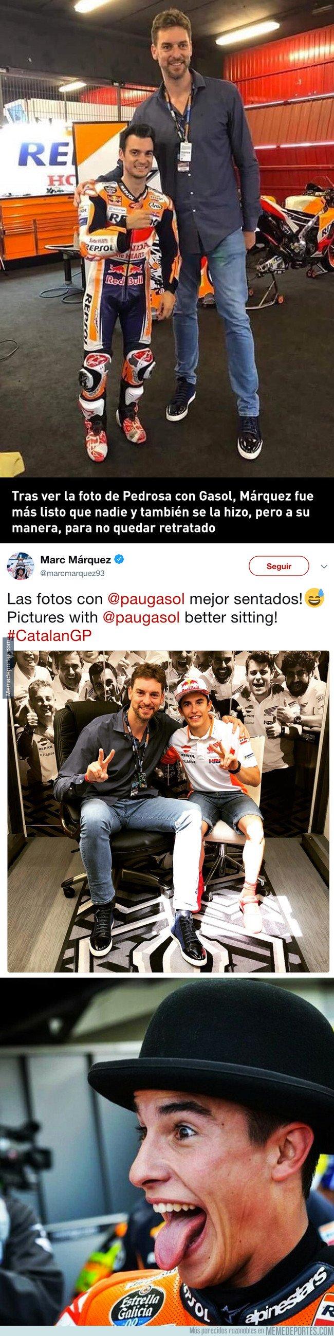 1038666 - Márquez, como siempre, aprendiendo de los errores de sus rivales y mejorándolos