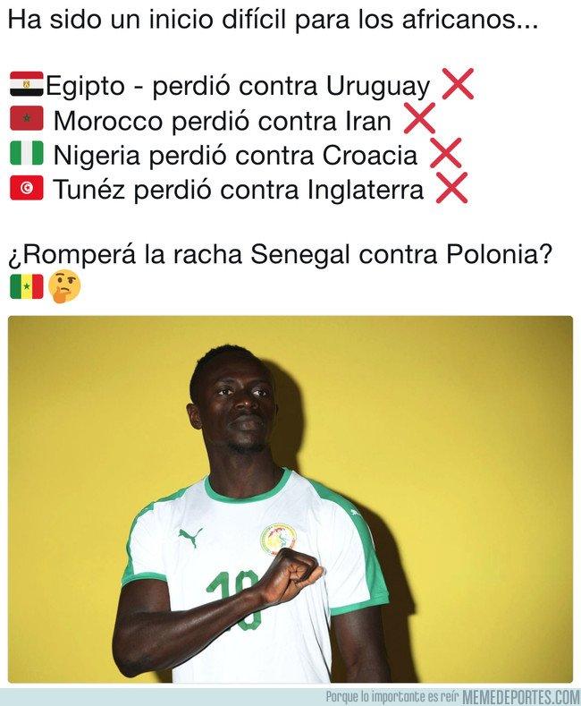 1038937 - MMD LIVE: Senegal a defender el orgullo africano