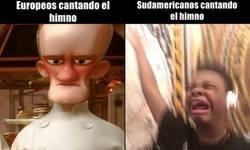 Enlace a Himnos sudamericanos y europeos