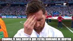 Enlace a Messi no puede más
