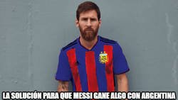 Enlace a No se le da a Messi
