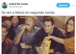 Enlace a Ya veo a Messi en segunda ronda