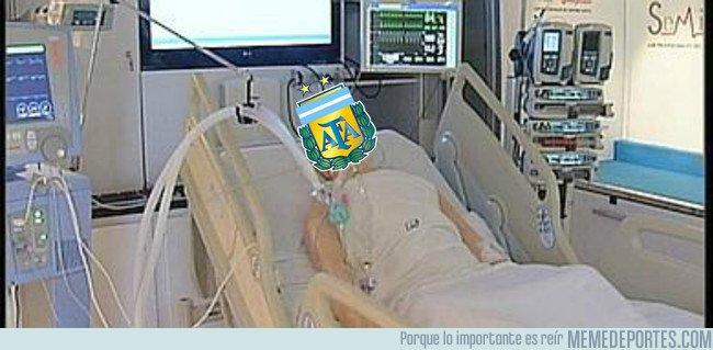 1039697 - La selección argentina con un pie y medio de ser eliminada a espera de que ocurra un milagro