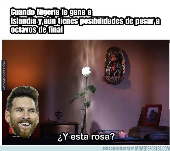 1039892 - La suerte le sonríe a Argentina
