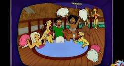 Enlace a El capítulo de Los Simpson en 1997 que predice los equipos que jugarán la final del Mundial