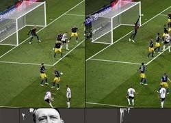 Enlace a Alemanes viendo el golazo de Kroos en el último segundo
