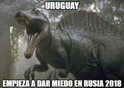 Enlace a Uruguay va con todo, 9 puntos y 0 goles en contra