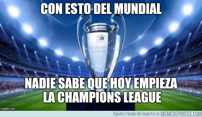 1040639 - Comienza la Champions League 2018/2019