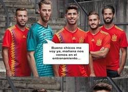 Enlace a De Gea sigue sin enterarse de nada.