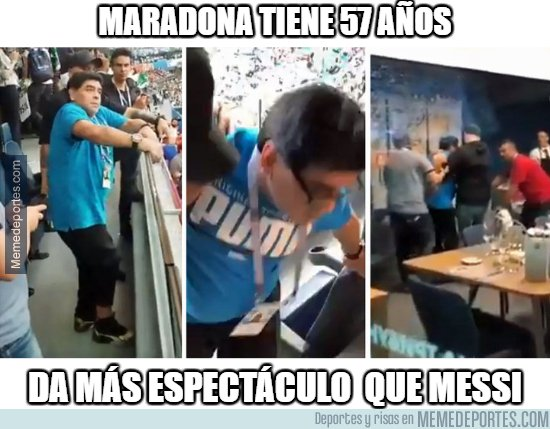 1040956 - Maradona robó el show