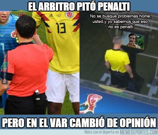 1041701 - ¿Qué pasó con el VAR  en el partido Colombia vs Senegal?