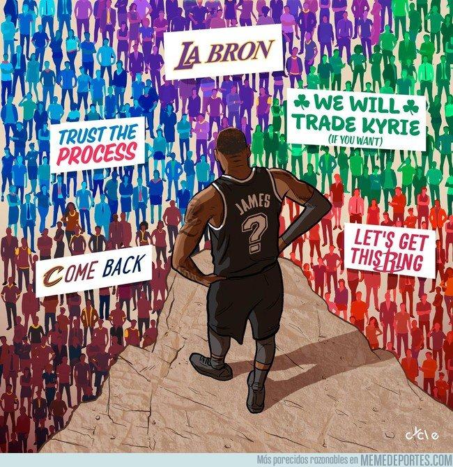 1041926 - LeBron anuncia que será agente libre ¿y tú dónde lo ves?