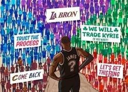 Enlace a LeBron anuncia que será agente libre ¿y tú dónde lo ves?