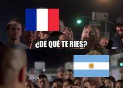 Enlace a Argentina se queda con el casi