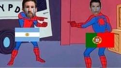 Enlace a Messi y Cristiano en estos momentos