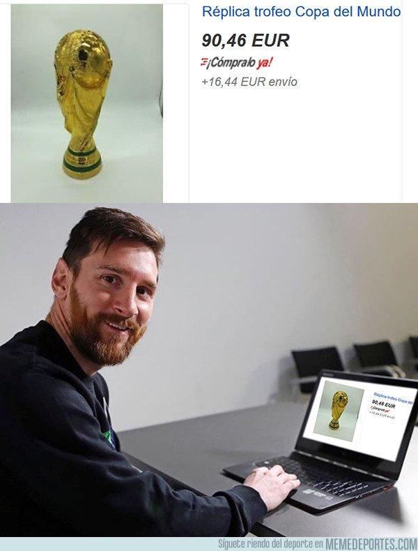 1043002 - ¿Quien dijó que Messi no podría tener nunca la Copa del Mundo?