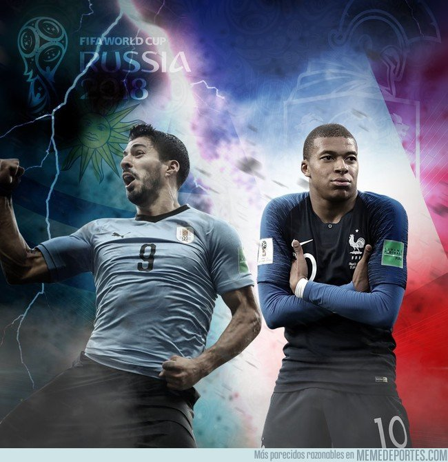 1043638 - MMD LIVE: ¡Bienvenidos al Live del primer partido de Cuartos de Final entre Francia y Uruguay!