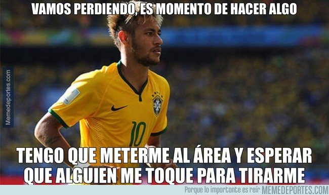 1043775 - La estrategia de Neymar