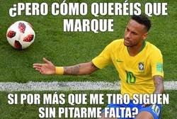 Enlace a Pobre Neymar, nadie lo entiende