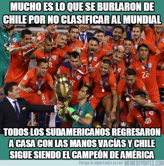 1043888 - Son datos y hay que darlos, Chile es el campeón de América