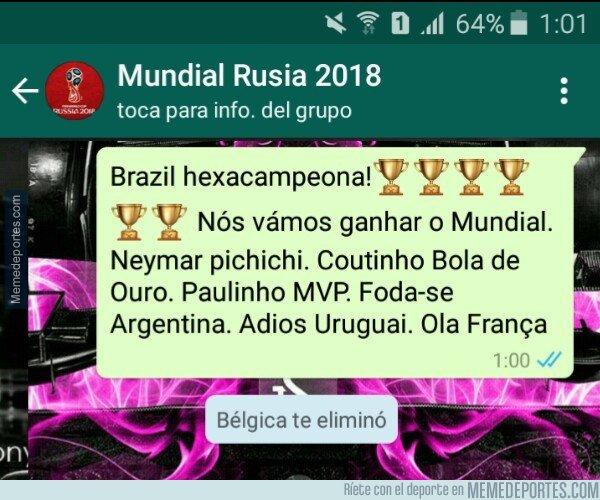 1043961 - Se acabó el Mundial para Brasil