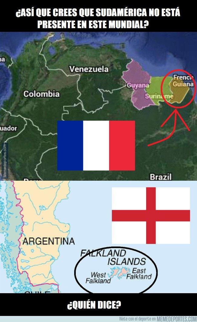 1044151 - ¿Qué Sudamérica no tiene representación en estas semis? Sostenme el cubata