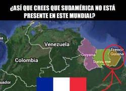 Enlace a ¿Qué Sudamérica no tiene representación en estas semis? Sostenme el cubata