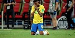 Enlace a Neymar queda retratado tras perder en el Mundial y darse por vencido