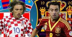 Enlace a Madridista ningunea a Xavi para alabar a Modric y se lleva el zasca de su vida