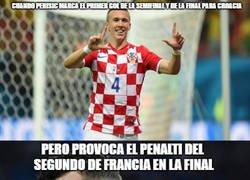 Enlace a MMD LIVE: Los aficionados croatas no saben como reaccionar con Perisic y Mandzukic
