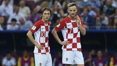 1045529 - El emotivo mensaje que se dedicaron Rakitic y Modric después de la final