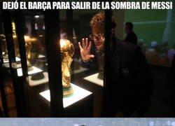 Enlace a Neymar, de sombra en sombra