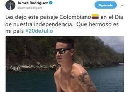 Enlace a El Sex Appeal de James sacando el lado más guarro de twitter