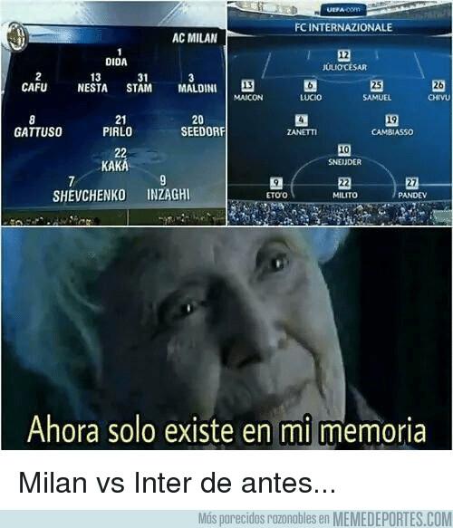 1046335 - Milan y Inter de hace años, lloremos