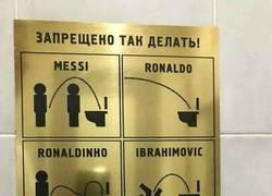 Enlace a Alguien ha hecho realidad el meme de cómo mean los futbolistas