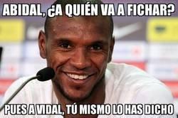 Enlace a Abidal ficha a Vidal