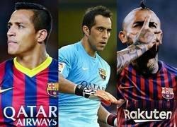 Enlace a Los 3 grandes jugadores chilenos de la última década han pasado por el Barça
