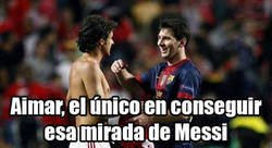 Enlace a Messi también tiene un ídolo